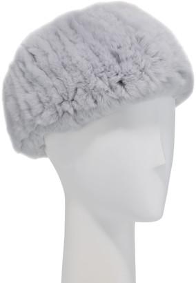Surell Accessories Rabbit Fur Stretch Headband/Neckwarmer