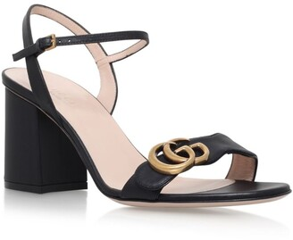 Gucci Leather Marmont Sandals 75