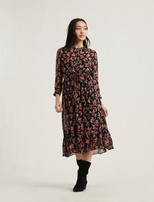 Lucky Brand Georgia Midi Dress