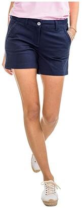 Southern Tide 5 Caroline Shorts (Misty Pink) Women's Shorts