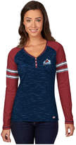 Majestic Women's Long-Sleeve Colorado Avalanche Pure Fury T-Shirt