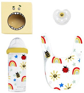 Stella McCartney Kids Bib, Bottle And Dummy Set