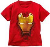 Iron Man mask tee - boys 4-7
