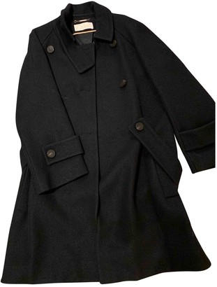 Chloé Navy Wool Trench Coat for Women