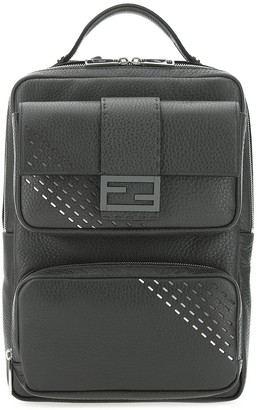 Fendi FF Buckled Backpack