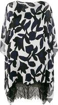 Talbot Runhof Nobbling dress - women - Silk/Polyester/Spandex/Elastane - 34