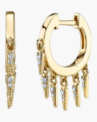 Sydney Evan Pave Fringe Earrings