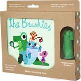 The Brushies Baby and toddler toobrush and storybook - Team member: Chomps the Dino!