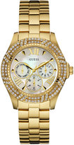 GUESS Women's Gold-Tone Stainless Steel Bracelet Watch 40mm U0632L2