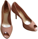 Christian Dior Pink Patent leather Heels