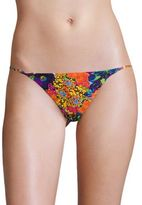 Milly Elba Floral Print Bikini Bottom