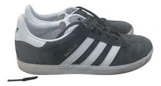 adidas Gazelle Grey Suede Trainers