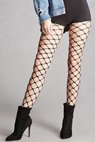 Forever 21 FOREVER 21+ Chain-Link Fishnet Tights
