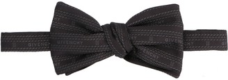 Givenchy Logo Chain Jacquard Bow Tie