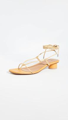 LOQ Dora Lace Up Sandals