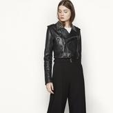 Maje Leather jacket with studs