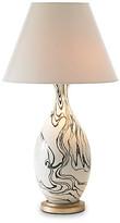 Bunny Williams Home Marbleized Lamp - Black/White