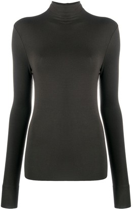 Thom Krom Roll-Neck Knitted Top