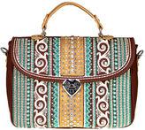 MONTANA WEST Montana West Mia Embroidery Satchel