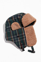 Urban Outfitters Plaid Trapper Hat