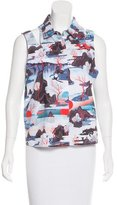 Opening Ceremony Sleeveless Printed Blouse w/ Tags
