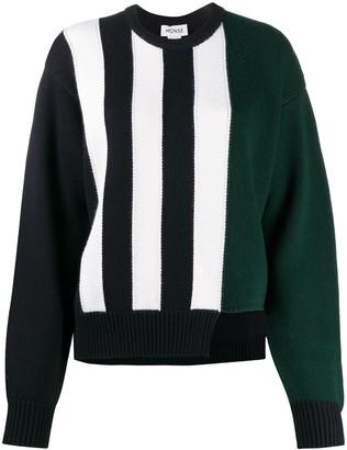 Monse Colour-Block Merino Wool Jumper