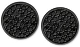Thumbnail for your product : Sutton by Rhona Sutton Men's Black-Tone Sterling Silver & Jet Cubic Zirconia Stud Earrings