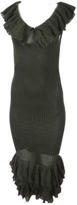 Polo Ralph Lauren Khaki Silk Dress for Women