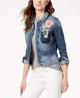 KUT from the Kloth Embroidered Denim Jacket