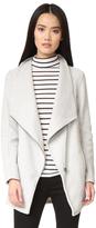 BB Dakota Blendon Fuzzy Zip Front Jacket