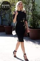 Little Mistress Black Bodycon Dress