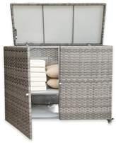 Panama Jack Graphite Outdoor Cushion Storage Cart in Grey