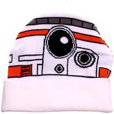 Disney Star Wars 7 BB8 Bigface Cuff Knit Beanie Hat