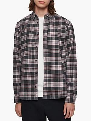 AllSaints Gaines Check Flannel Shirt