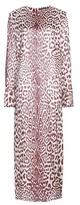 Haider Ackermann Leopard-print silk-blend dress