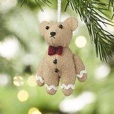 Crate & Barrel Gingerbear Felt Christmas Ornament