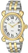 """Glam Rock Women's GR28031 """"Vintage Glam"""" Two-Tone Stainless Steel Watch with Analog Display"""