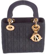 Christian Dior Nylon Micro Lady Bag