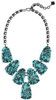 Kendra Scott Harlow Teal Magnesite Statement Necklace