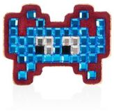 Anya Hindmarch Space Invader Embossed Leather Sticker