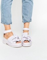 Asos FILLY Chunky Bow Flat Sandals