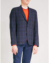 Paul Smith Checked Soho-fit stretch-wool jacket