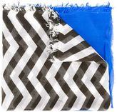 Dondup chevron print scarf
