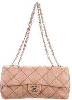 Chanel Ultimate Stitch Python Flap Bag