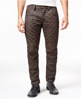 G Star Men's Quilted Tapered Jeans