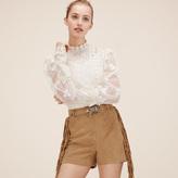 Maje Suede shorts