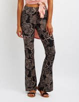 Charlotte Russe Paisley Flare Pants