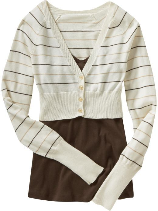 Old Navy Women's Cropped Cardigan Sweaters