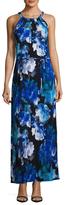 T Tahari Avalon Printed Maxi Dress