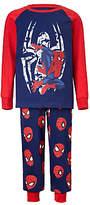 Spiderman Children's Printed Pyjamas, Navy